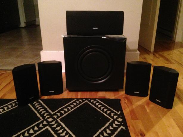 Brand-New Hauss Media Labs Platinum Series HS-3 5.1 HD Speakers