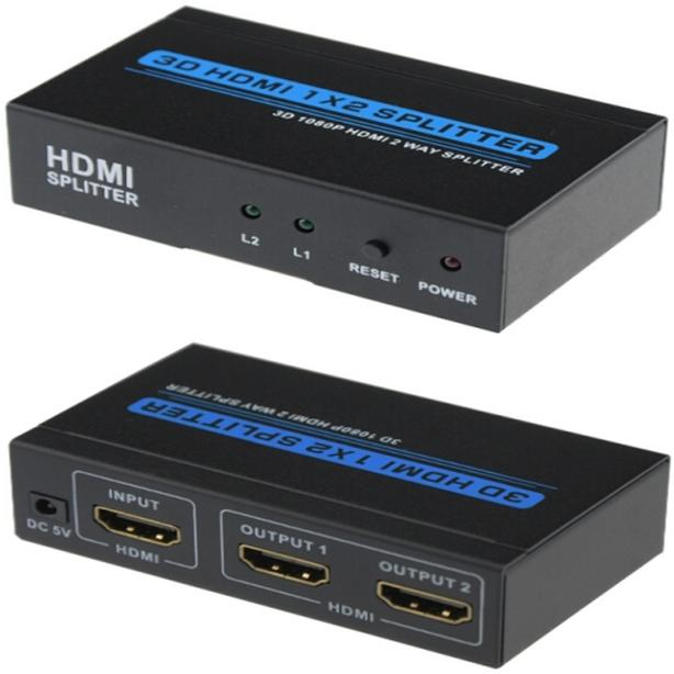 1 In 2 Out HDMI Active Splitter