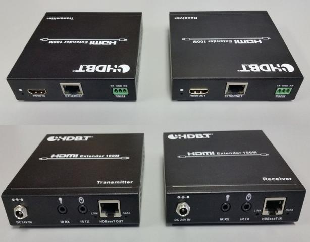 HD BaseT HDMI over Single Cat5e/6 Balun Kit - 100 Meter