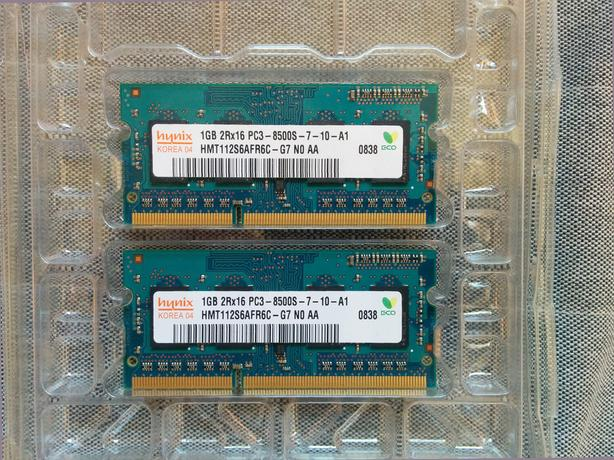 Hynix Laptop RAM 2Rx16 PC3-8500S DIMM DDR3