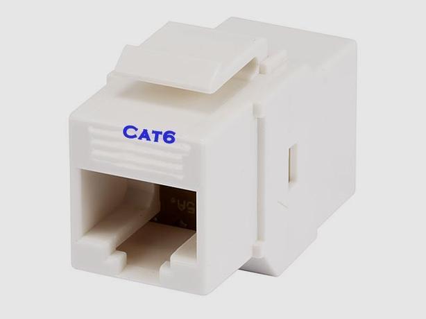 Keystone Insert - Cat6 Inline Coupler Type