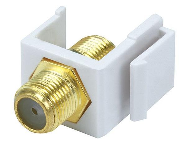 Keystone Insert - Coax Coupler Type