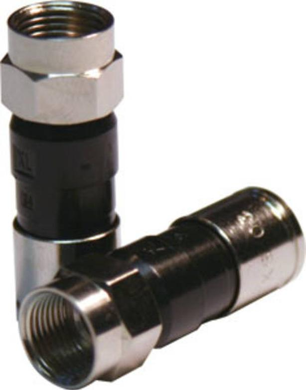 PPC EX6XLPLUS RG6 Coax Compression Fittings - 50 Pack