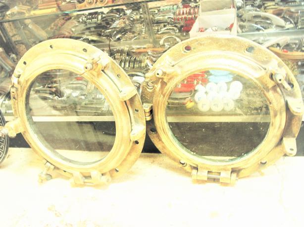 Solid brass portholes