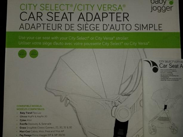 Log In Needed 35 Baby Jogger City Select Versa Universal Carseat Adapter