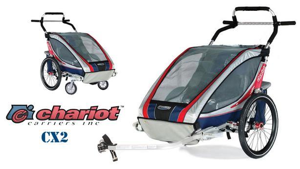 Chariot Cx2 Stroller & Bike Trailer Combo