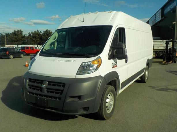 2017 Dodge Ram Promaster 3500 High Roof Tradesman 159-in. WB Ext Cargo Van