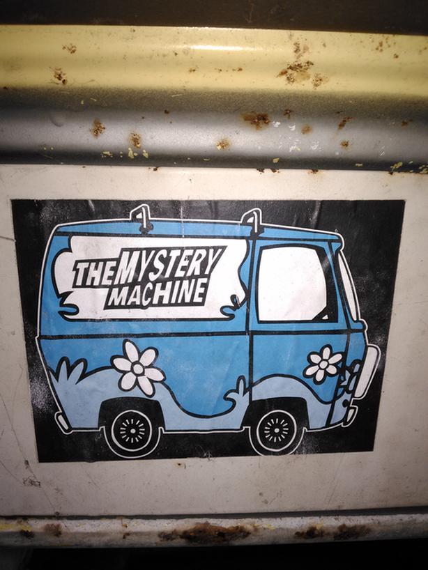1969 Chevrolet Van       Scooby Doo   X  2