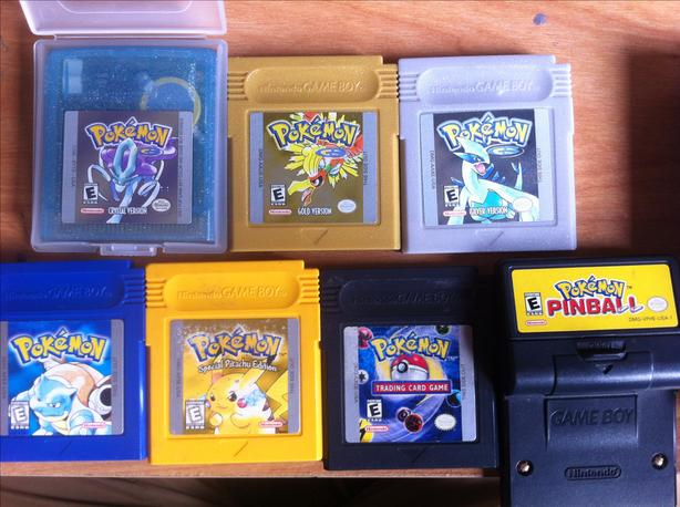 Nintendo 3ds Pokemon Games : Pokemon games for nintendo gameboy color and nintendo ds gbc ds