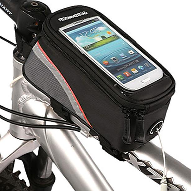 Bicycle Bike Frame Phone Bag - 1.5L - Red