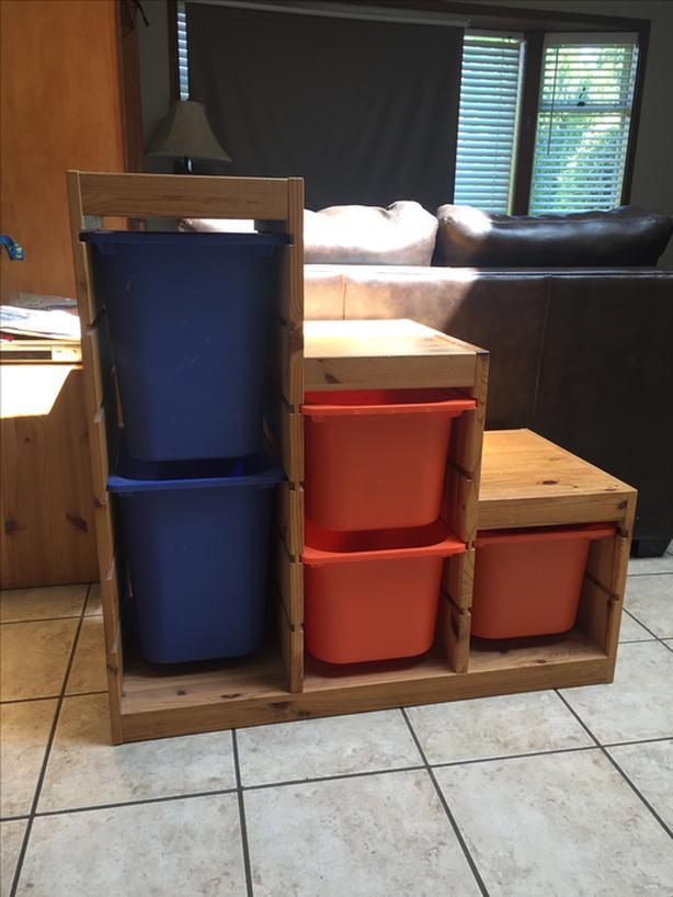 Ikea Trofast toy storage unit & Ikea Trofast toy storage unit Qualicum Nanaimo