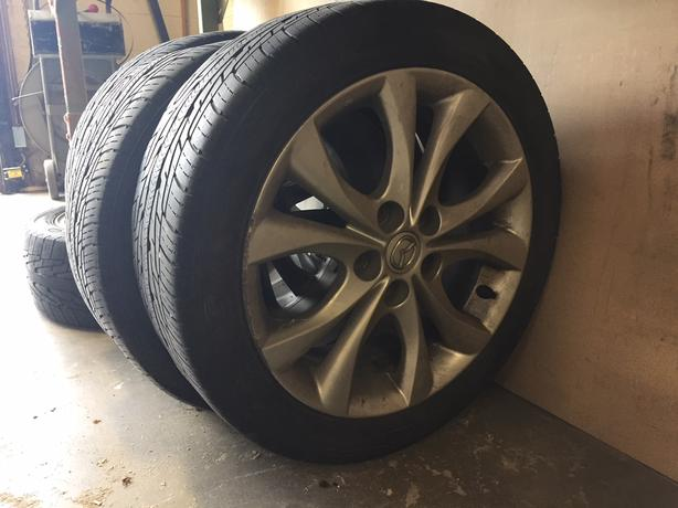 2010 Mazda 3 GT Tires And Rims