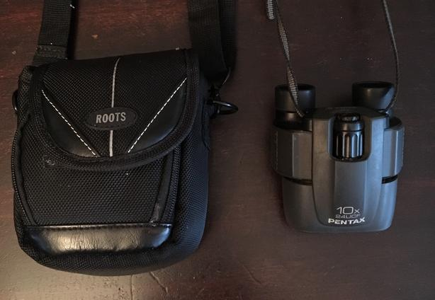 Pentax and Tasco Compact  Binoculars 2 For Sale