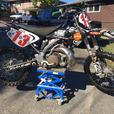 2004 Kawasaki KX250 Dirt bike