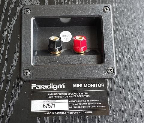 $180 · Paradigm Mini Monitor V1