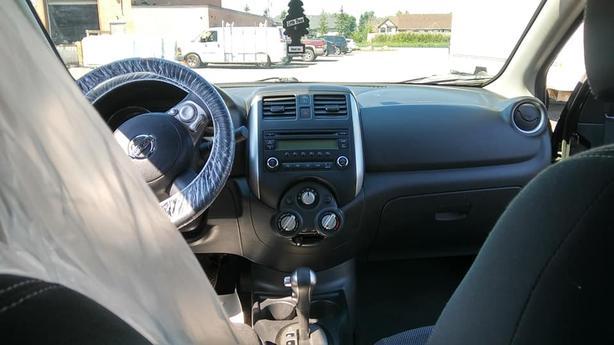 Safetied 2014 Versa SV PureDrive, 4cyl, automatic, Bluetooth