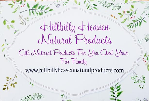 Hillbilly Heaven Natural Products for Horses and Humans