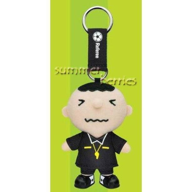 Sanrio minna no tabo 2010 FIFA World Cup Plush Key Chain - Referee