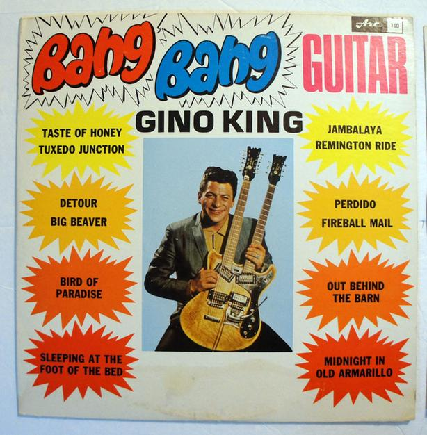 Gino King ‎– Bang Bang Guitar Record vinyl 33