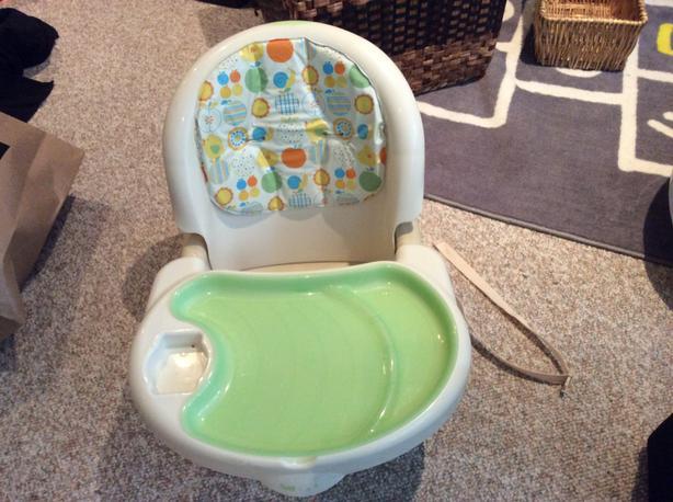 Unused- SpaceSaver High Chair