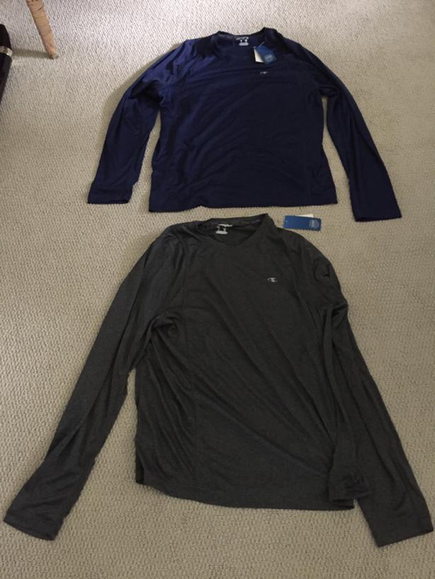 Champion Long Sleeved Shirts