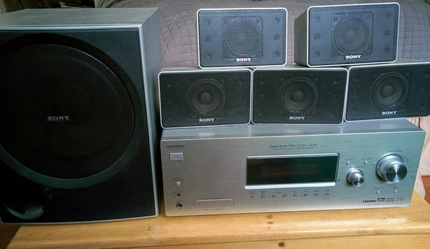  Log In needed $50 · Sony AV Dolby 5 1 Surround sound receiver