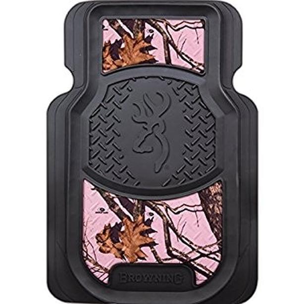 Pink Camo Car Mats Seat Covers