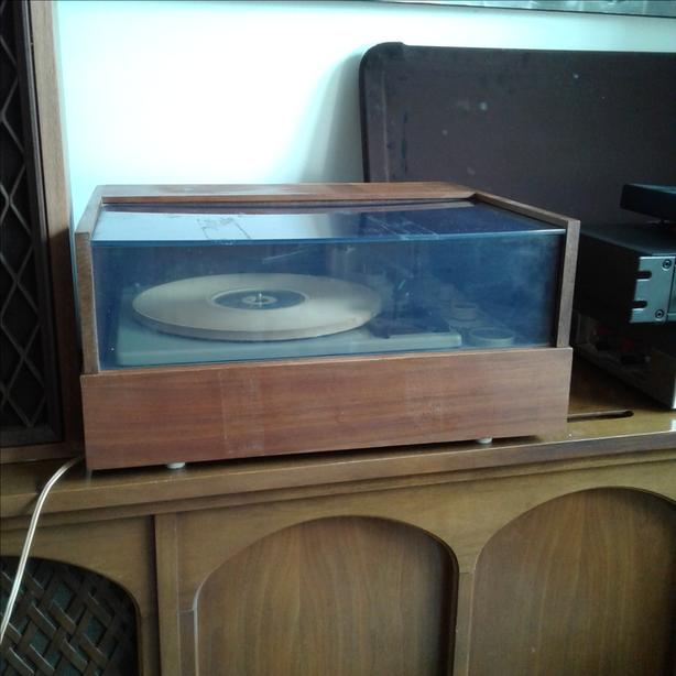  Log In needed $100 · TEAK CASED VINTAGE TURNTABLE (Must Sell Today)
