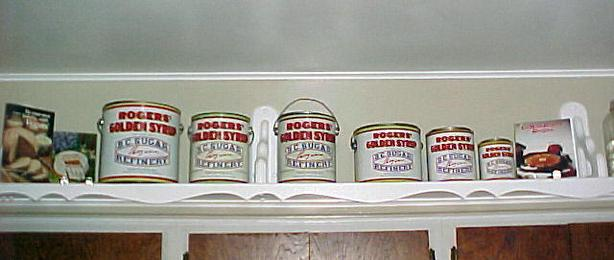 "Collection B.C.Sugar Refinery""ROGERS GOLDEN SYRUP""Tin Can Pail VANCOUVER"
