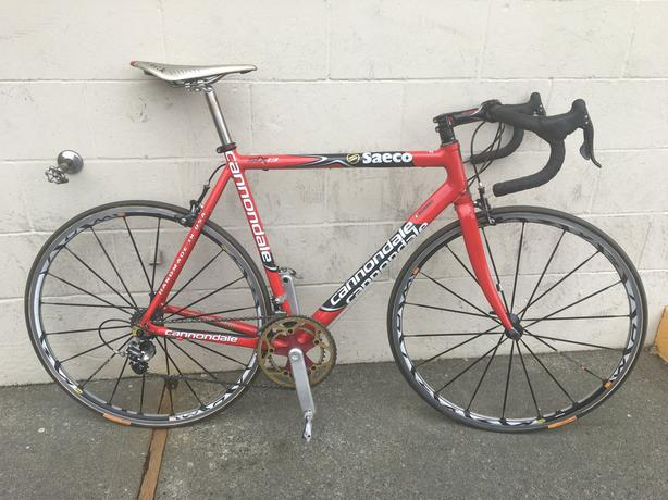 72d49e96a64 Custom Cannondale Six13 ridden in the WorldTour Outside Victoria ...
