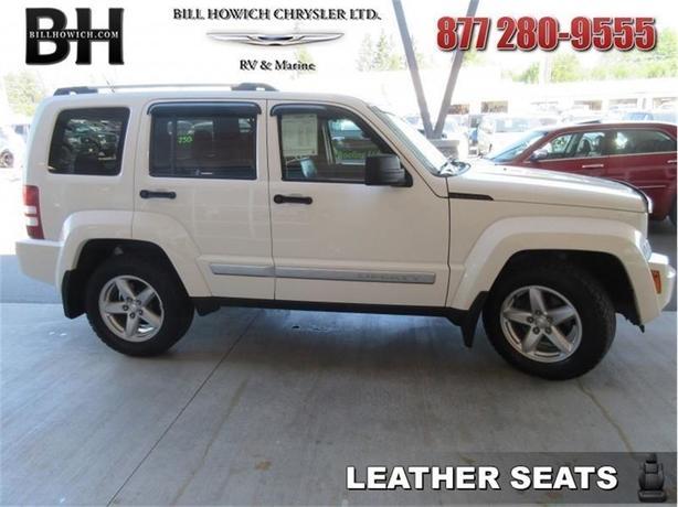 2010 Jeep Liberty Limited   Navigation   Leather Seats   $242.12 B/