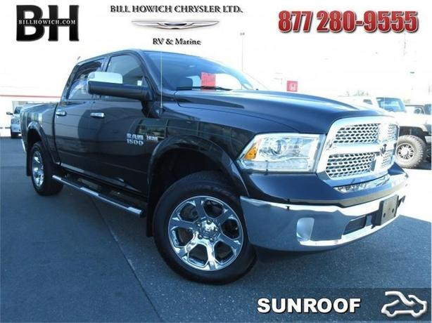 2017 Ram 1500 Laramie - Sunroof - Remote Start  - $337.11 B/W