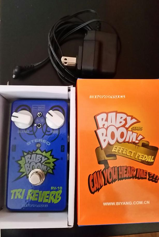 BABY BOOM Stereo Reverb Guitar Effect Pedal