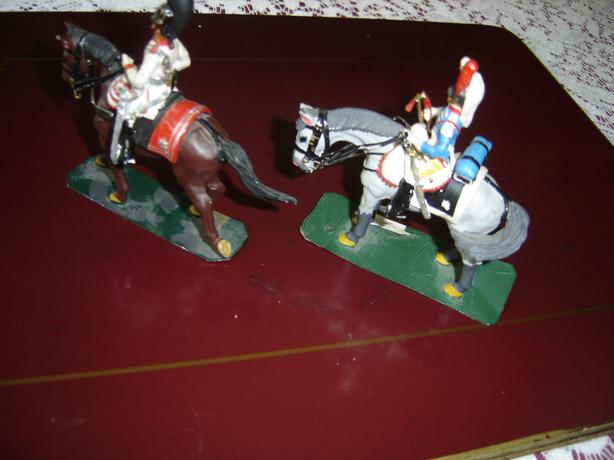 Lead soldiers on horseback