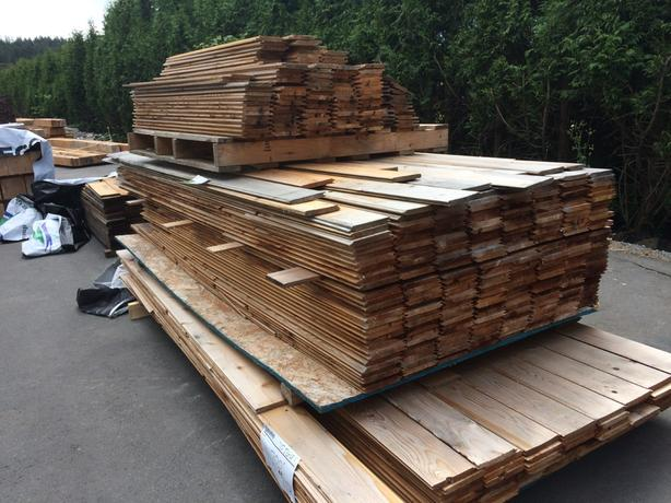 T Amp G And Ship Lap Cedar Siding 25 Cents A Lineal Foot