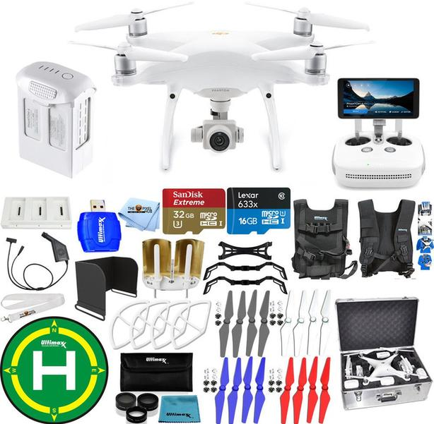 DJI Phantom 4 Pro+ Version 2.0 Drone Bundle
