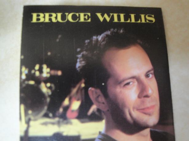 Bruce Willis, The Return of Bruno, Cassette Tape (1987)