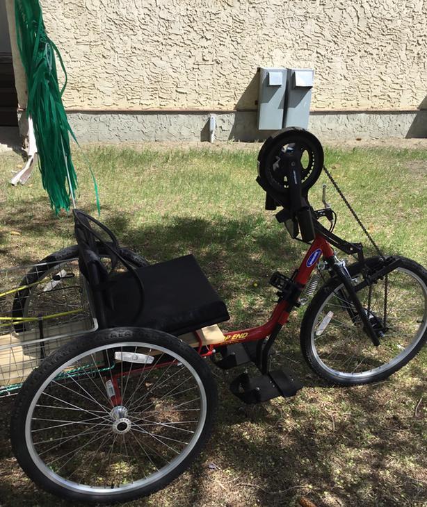 Handcycle 3 wheeled $1400