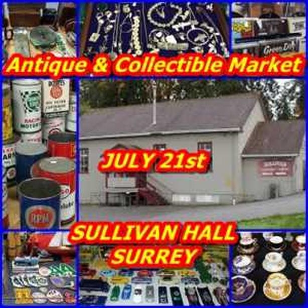 Antique and Collectable Market July 21st