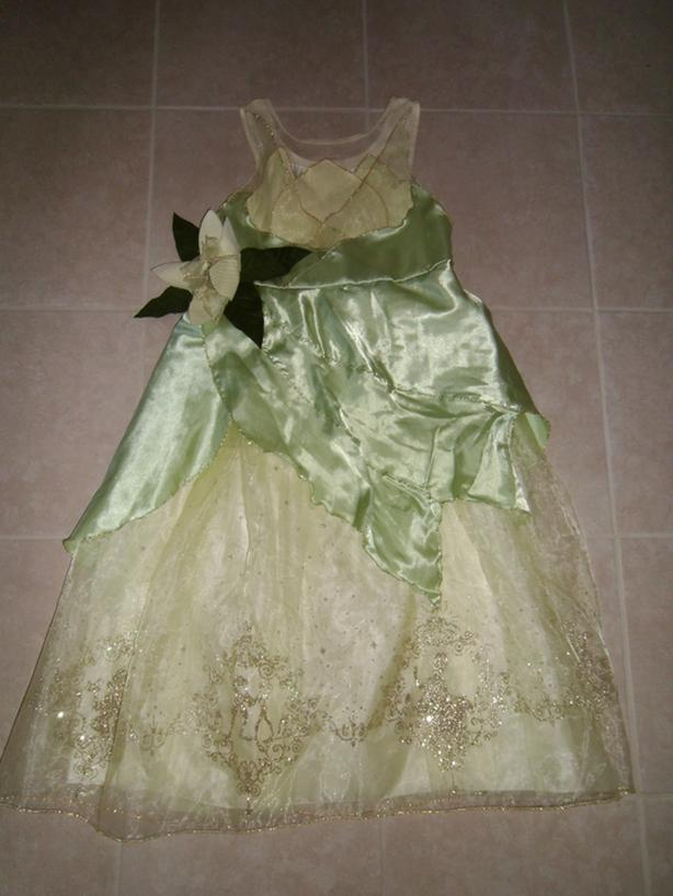 Disney Princess and The Frog Dress Size XL