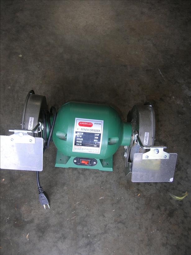 Incredible Log In Needed 45 American Tool Exchange 10104 6 Inch 3 4 Hp Bench Grinder 204 2407 Lamtechconsult Wood Chair Design Ideas Lamtechconsultcom