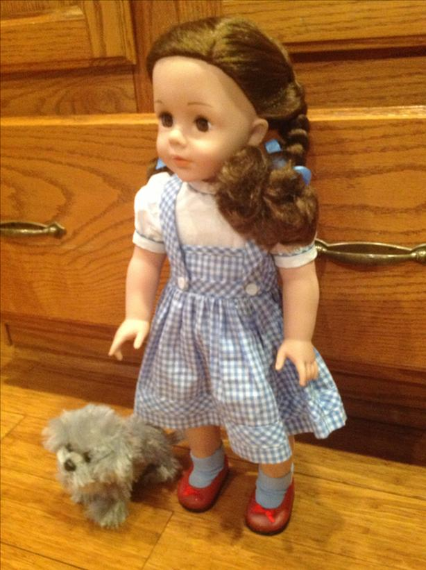 """Madame Alexander 18"""" Dorothy, 5"""" toto plush & mini ..."""