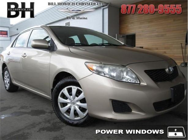 2010 Toyota Corolla Corolla/S/LE/XLE - Power Windows