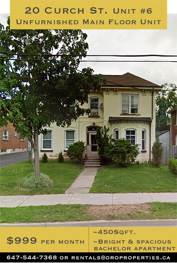 20 Church Street East, Suite #6