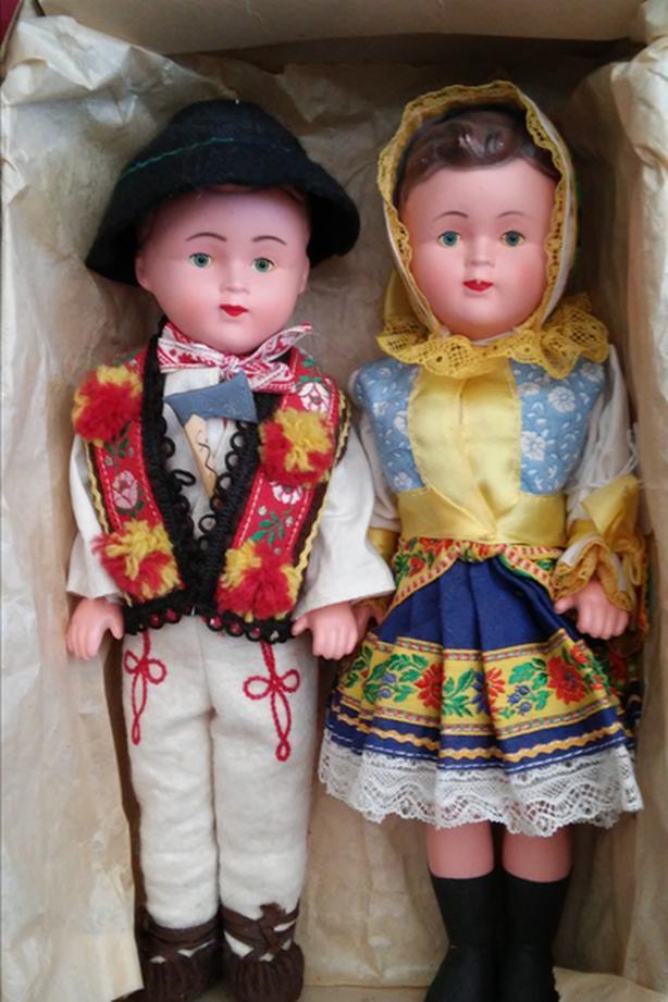 Czechoslovakia Boy and Girl - Vintage Dolls