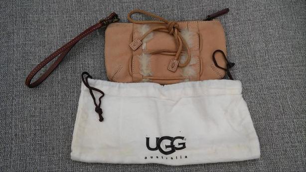 UGG Leather Wristlet