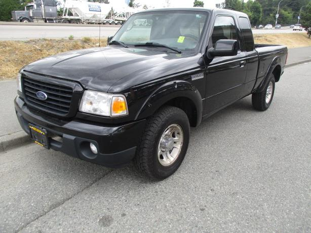 ***2009 FORD RANGER SPORT , RARE 5 SPEED , GREAT SHAPE, CALL 604-580-3161 ***