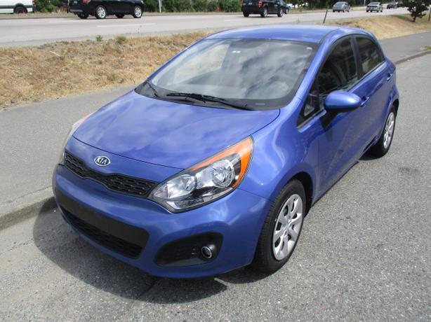 ***2012 KIA RIO LX PLUS HATCHBACK , GREAT SHAPE , CALL 604-580-3161 ***