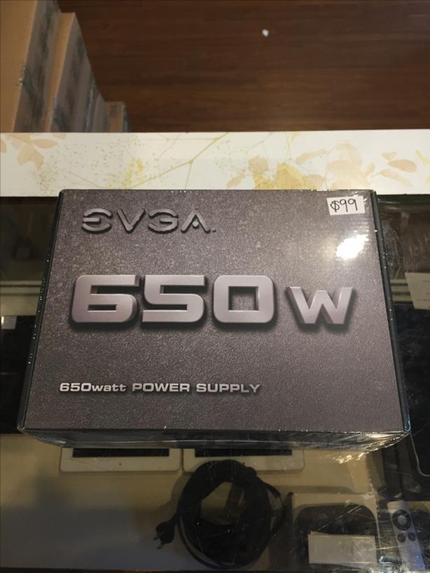 BRAND NEW! EVGA 650W Power Supply w/ Warranty!