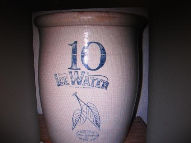WANTED: Red Wing Ice Water Crock Or Watercooler Crock